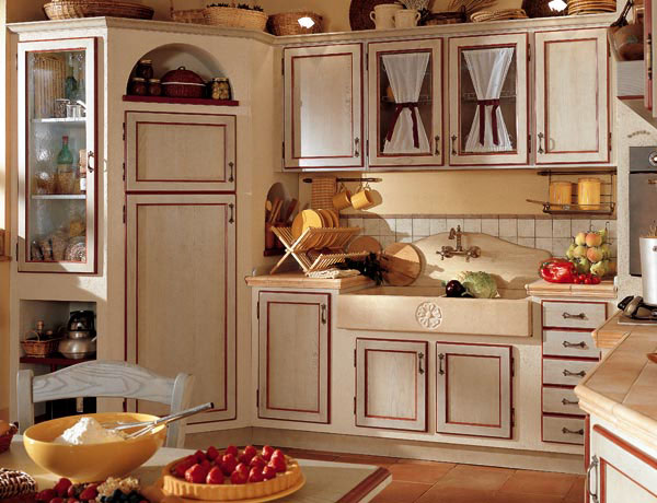 Mobili Cucina Country. Perfect Cucine Country Chic Stile Moderno ...