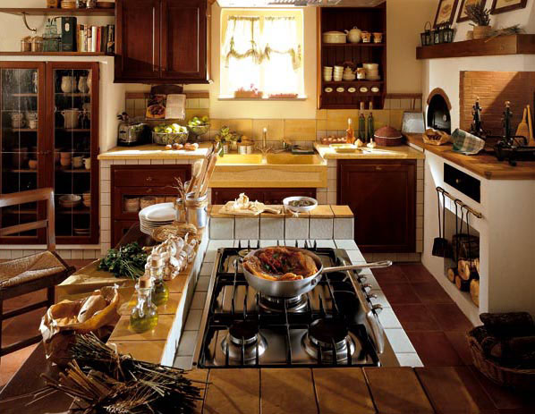 Beautiful Cucina Con Isola In Muratura Images - Home Ideas - tyger.us