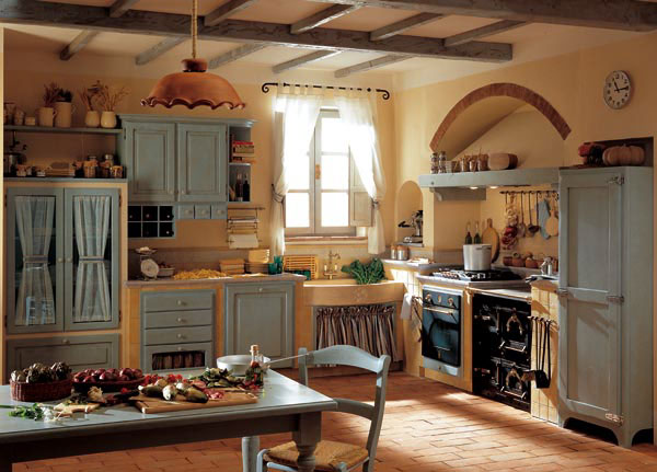 Forum cucina country e frigo americano a 3 for Arredamento cucina country