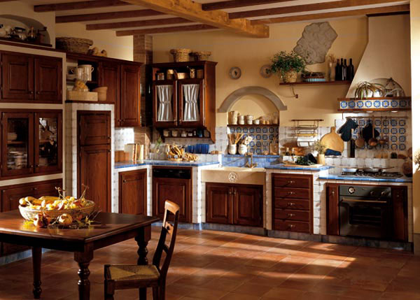 Forum Arredamento.it •Cucina country finta muratura o vera ...
